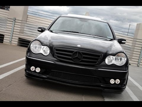 w203 tuning mercedes benz w203 youtube. Black Bedroom Furniture Sets. Home Design Ideas