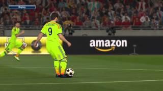 Pro Evolution Soccer 2016 - Okazaki scissors kick (Japan vs Jordan)