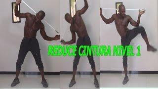 rutina para reducir cintura y eliminar rollitos de la espalda