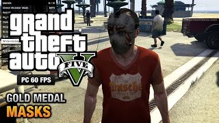 GTA 5 PC - Mission #36 - Masks [Gold Medal Guide - 1080p 60fps]