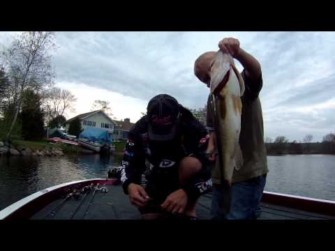 Fishing With Joe Wood On Long Pond, Lakeville Ma