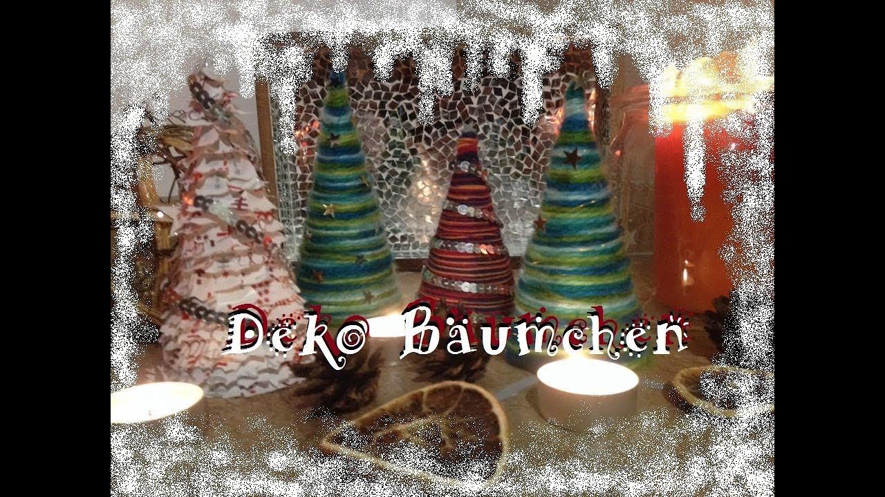 winterdeko b umchen basteln teil 1 weihnachtsdeko ideen bastelideen youtube. Black Bedroom Furniture Sets. Home Design Ideas