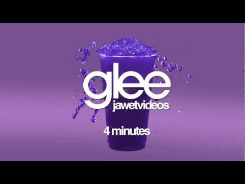 Glee Cast - 4 Minutes (karaoke version)