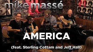 "America"" by Simon & Garfunkel, an acoustic cover by Mike Massé, fea..."