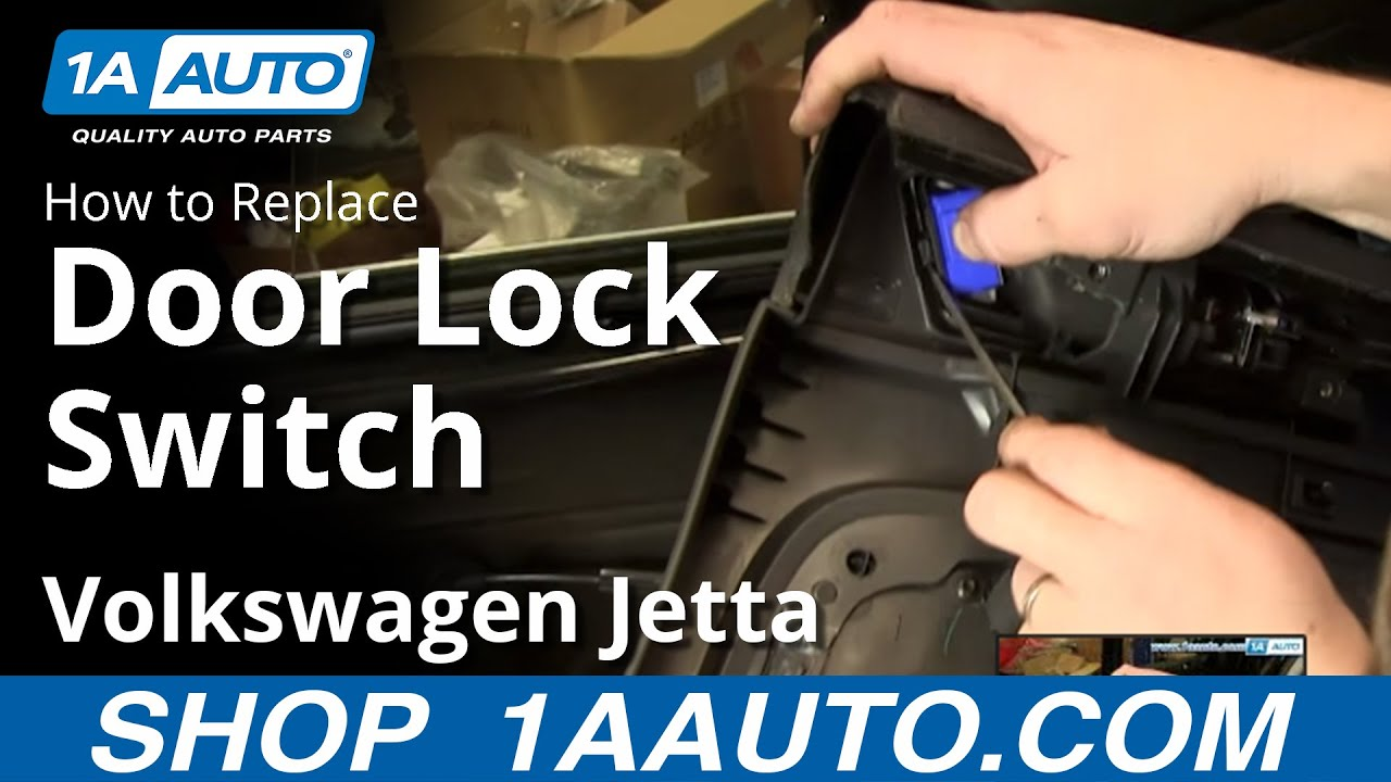 how to install replace rear power door lock switch 2005 10
