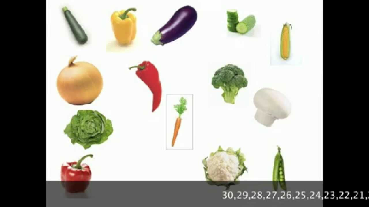 Vocabulario Inglés: las verduras - YouTube
