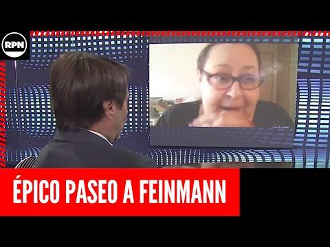 Eduardo Feinmann: Graciana Peñafort lo llevó de paseo