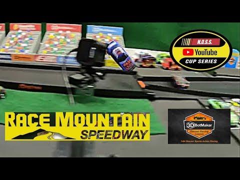 NASCAR 1/64 Racing At Race Mountain Speedway