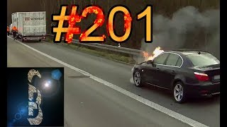 Sascha on Truck-Tour #201 (Burning car and Fall off the Bridge)