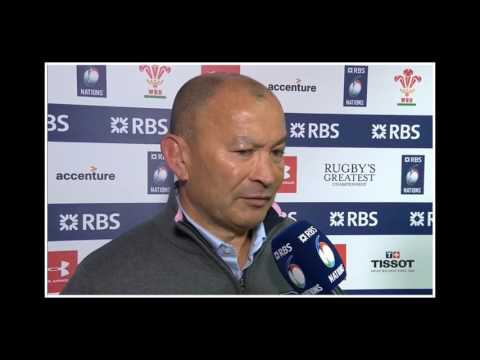 """Eddie Jones """"TAKE ITALY TO THE CLEANERS!!"""" 