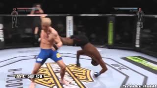 Юмористическое видео о багах в EA Sports UFC (РУССКИЕ СУБТИТРЫ)