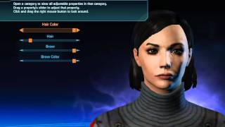Mass Effect Trilogy - Tips for making a nice and realistic female Shepard (new version)