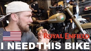 How can I buy a ROYAL ENFIELD in INDIA?? (As a Foreigner)