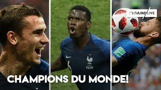 LA FRANCE EST CHAMPIONNE DU MONDE