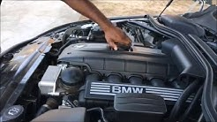 How to Change the Oil on a 5 series BMW 528i 535i 545i M5