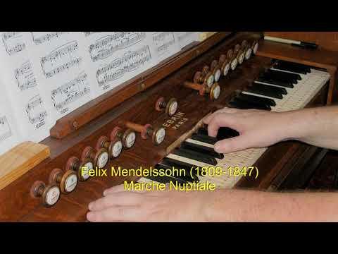 Harmonium Mendelshon Marche Nuptiale