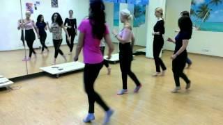 Кизомба Женский стиль  - танцуем без каблуков.
