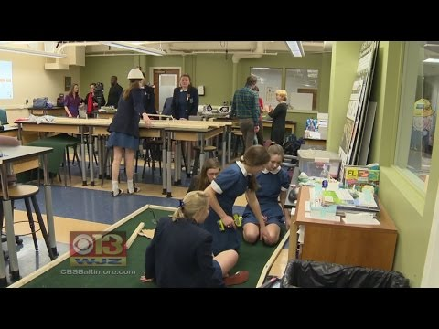 Notre Dame Prep Students Prepare For Public Service Project With 'Tool Time'