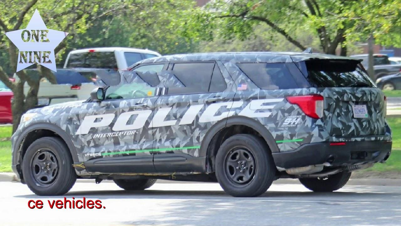 2020 Ford Police Interceptor Utility Dominates Michigan State Police