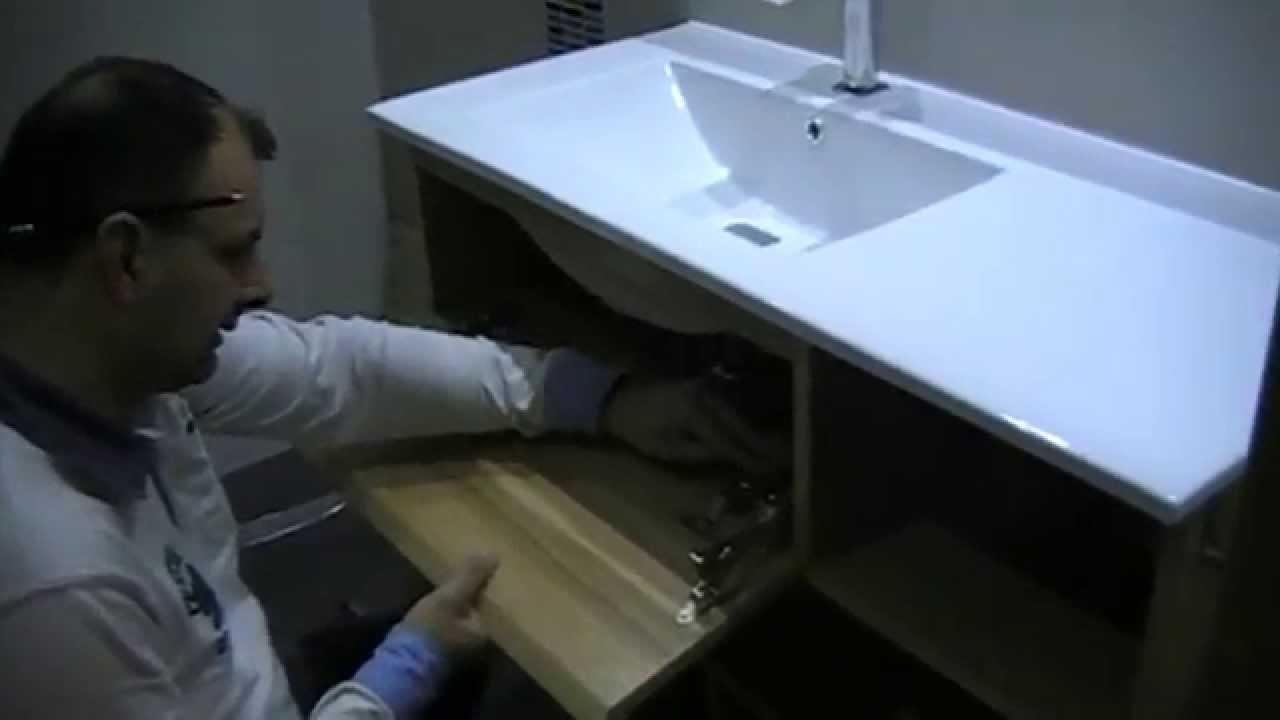 Hacer un mueble de ba o suspendido 3 de 1 youtube - Como hacer mueble de bano ...