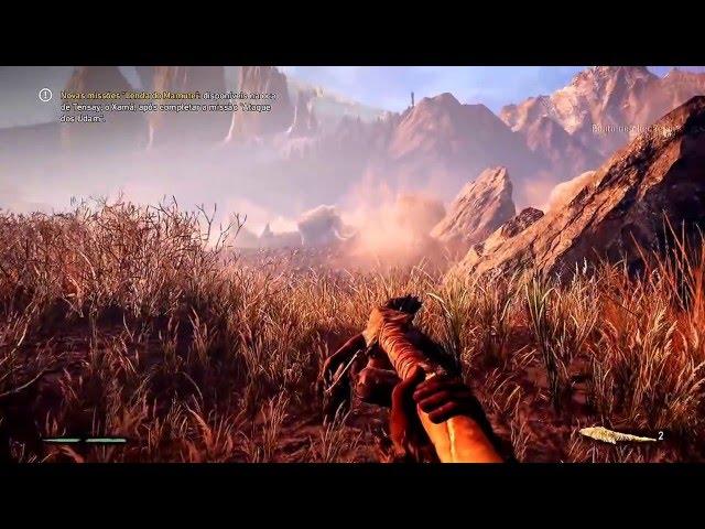 Far Cry Primal - Inicio [ Esse Tigre Vai Agora Nos Perseguir ] Xbox One