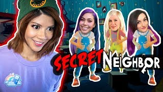 WHICH KID IS THE LIAR?! - Secret Neighbor w/ LaurenzSide, Cupquake & Cyber