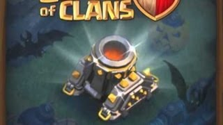 Clash of Clans - Level 8 Mortars + Halloween Theme (Update September 2013)