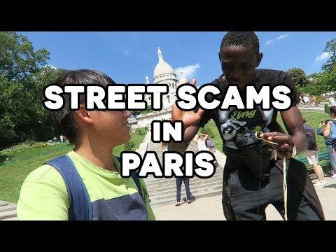 🇫🇷 帶大家感受下巴黎三大街頭騙案 -