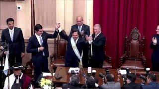 Video: Gustavo Saénz asumió como nuevo gobernador de Salta