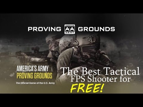 Americas Army Proving Grounds Gameplay! Is It THE BEST FPS out there?