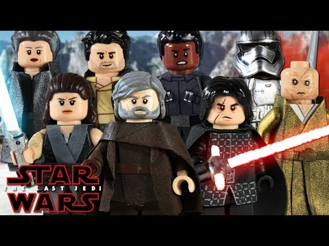 Custom LEGO Star Wars: The Last Jedi Minifigures