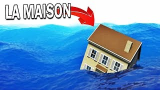 THE HOUSE WILL SURVIVE THE TSUNAMI?! | Roblox!