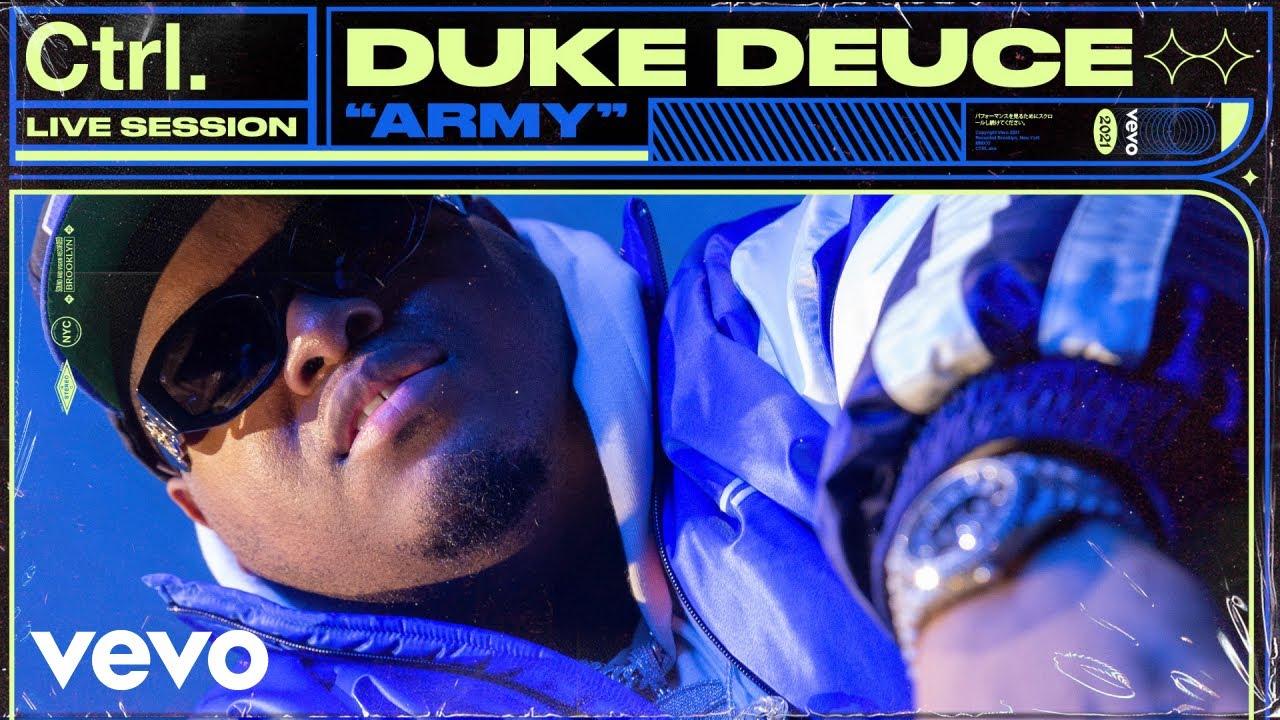 Duke Deuce - ARMY (Live Session) | Vevo Ctrl