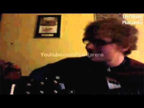 Ed Sheeran Singing Moments (Ustream) HD