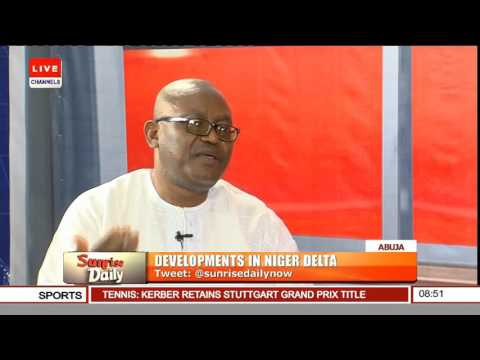 Sunrise Daily: Paul Boroh Speaks On Development In Niger Delta