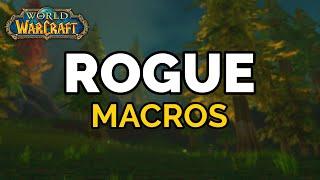 Classic Rogue Macros - Part 1 (Vanilla to Classic Conversion)