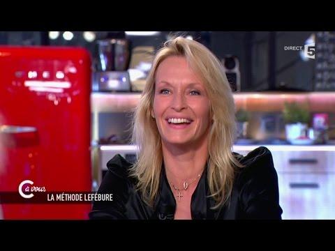 """Estelle Lefébure sur ses années """"top model"""" - C à vous - 26/03/2015"""