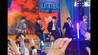190515 - Boy With Luv SOUNDCHECK - BTS 방탄소년단 - GMA Summer Concert Series - HD FANCAM