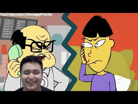 Angry Asian Prank Call 96
