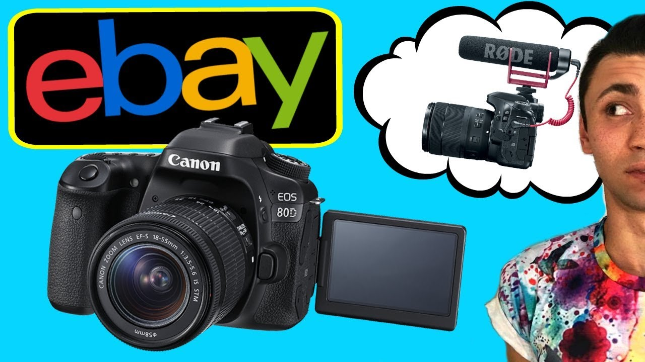 CANON EOS 80D UNBOXING - Used from EBAY?