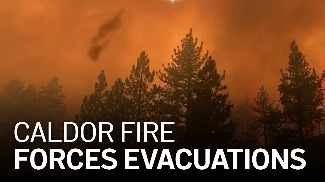 Evacuation Orders Expand On Lake Tahoe's California Side As A ...