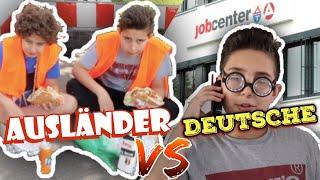AUSLÄNDER vs DEUTSCHE #6 ARBEITEN - FREUNDE LACHKICK