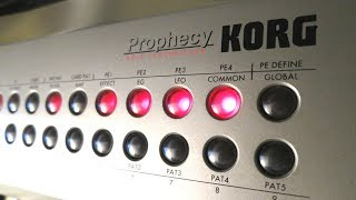 Best Ambient Synth Shootout #38: Korg Prophecy - Song 3