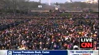 Barack Obama 1st Inauguration - January 20, 2009 - CNN News Coverage Pt 1