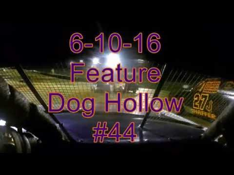 Dog Hollow Speedway Feature Pure Stock 6-10-16