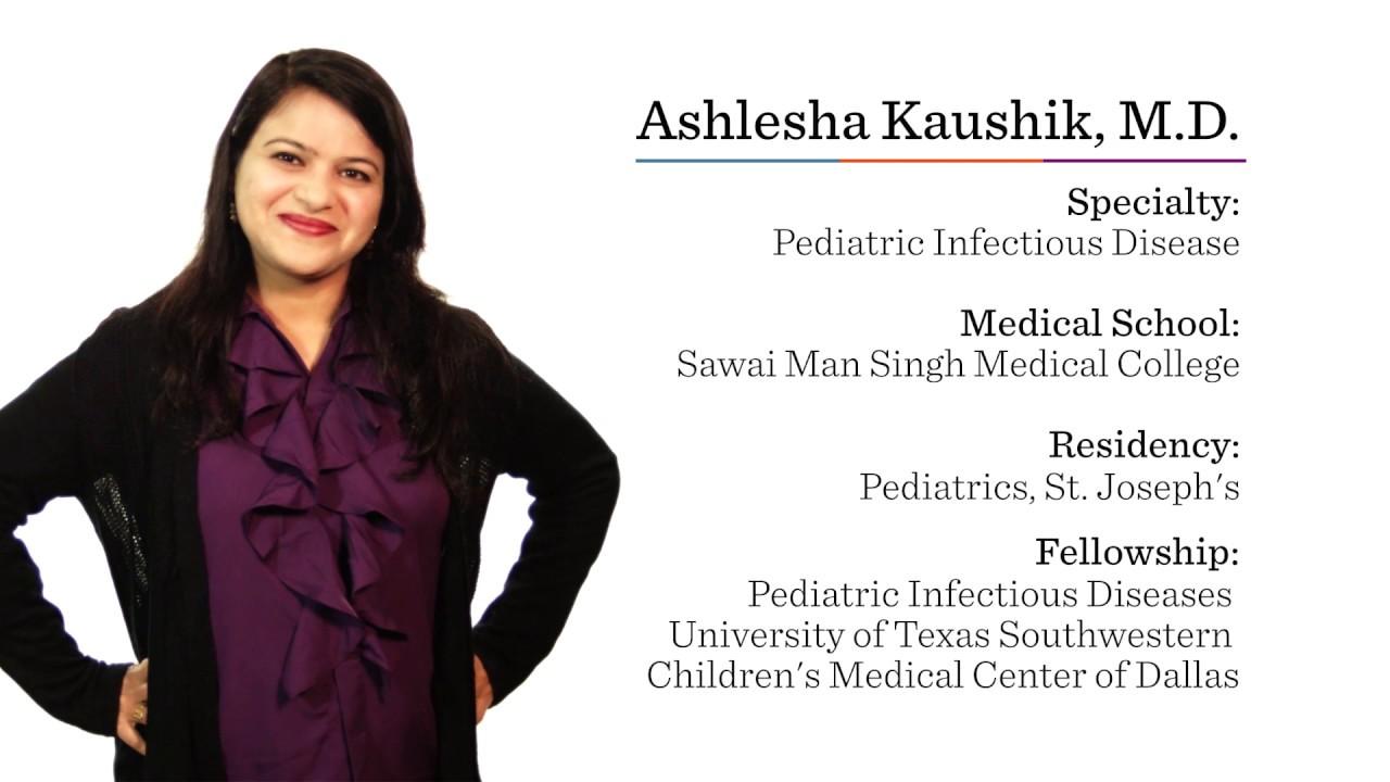 Ashlesha Kaushik | Pediatric Infectious Disease Sergeant Bluff