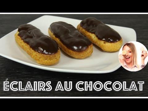 ♡•-recette-Éclair-au-chocolat-|-je-teste-le-robot-kenwood-cooking-chef-•♡