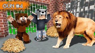 ASLAN KAFESİNDEN SON ÇIKAN KAZANIR! 😱 Minecraft