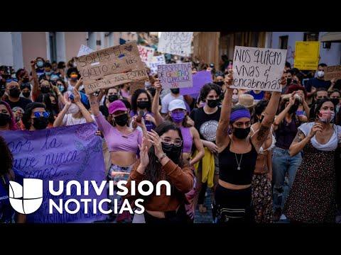 Exigen en Puerto Rico más medidas para combatir los feminicidios tras el caso de Félix Verdejo