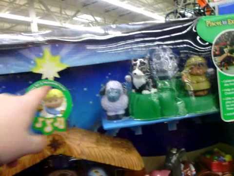 Fisher Price Nativity Scene